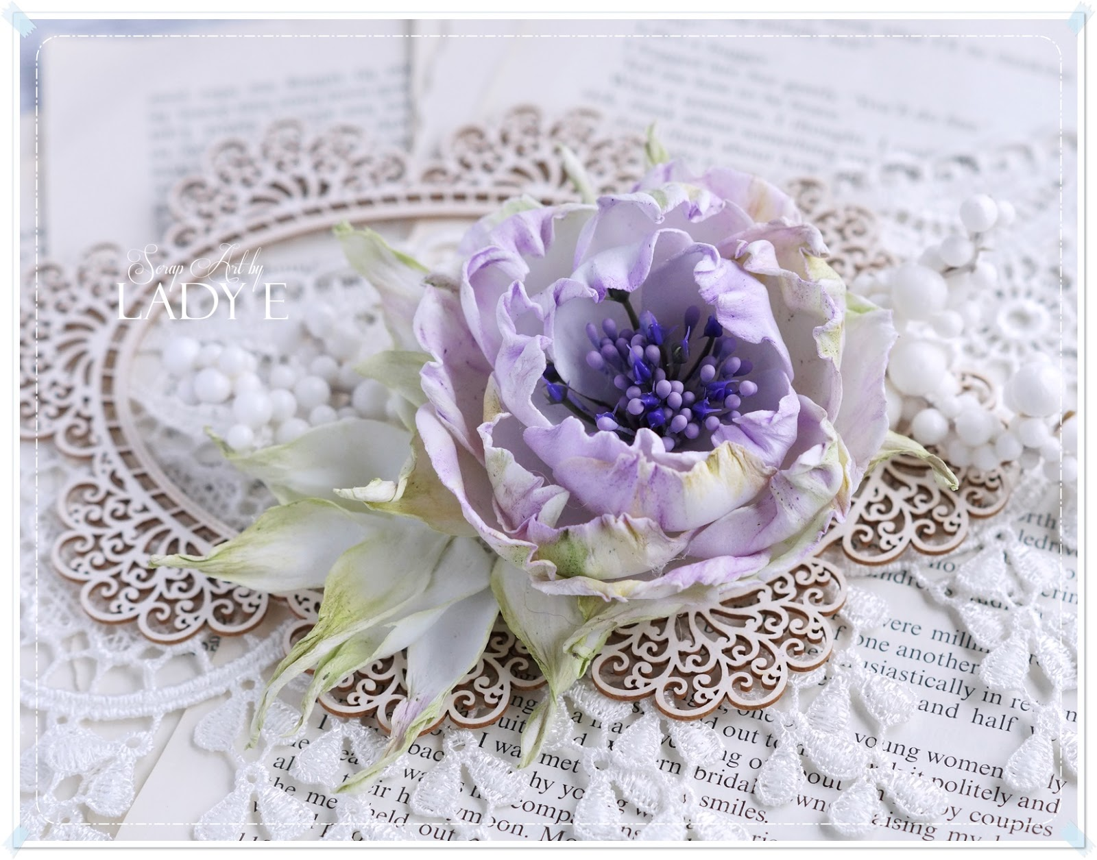 The Flower Could Be Used As A Brooch Hair Clip Or Embellish Your Home Decor