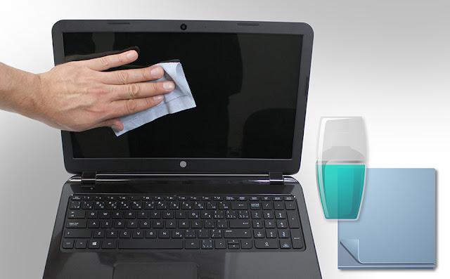 cara membersihkan layar laptop yang kotor, cara membersihkan layar laptop dengan aman, cara membersihkan lcd laptop yg kotor