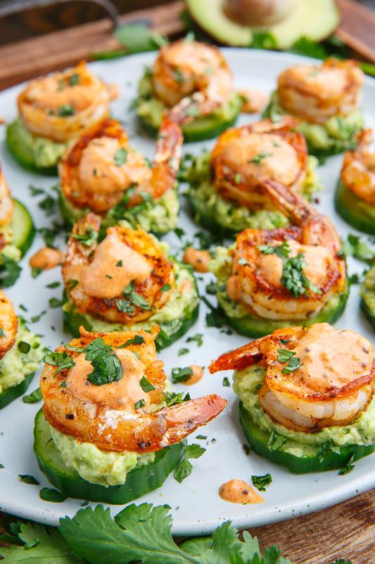 Big be u tiful life for Shrimp canape ideas