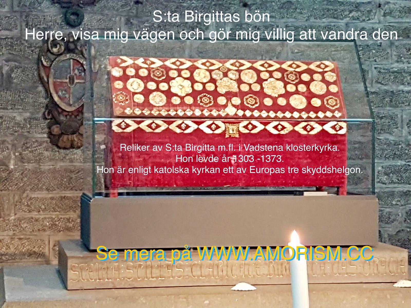 Bild på relikskrin Heliga Birgitta eller Sankta Birgitta eller S:ta Birgitta jpg