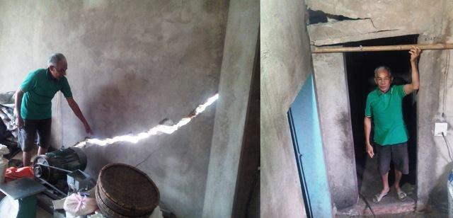 Thanh Hóa: Hàng trăm nhà dân bị lún, nứt mòn mỏi chờ đền bù ảnh 2