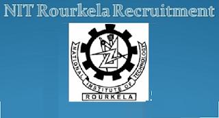 NIT-Rourkela Recruitment 2017 at Odisha Last Date : 03-07-2017