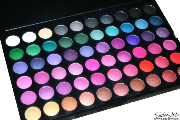 120 Eye shadow palette by Bundle Monster