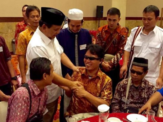 UU No 8/2016, Bukti Koalisi Prabowo Pejuang Kaum Difabel
