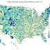 Most & Least Educated Counties in the U.S.