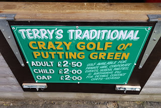 Terry's Traditional Crazy Golf course and Putting Green in Cleethorpes