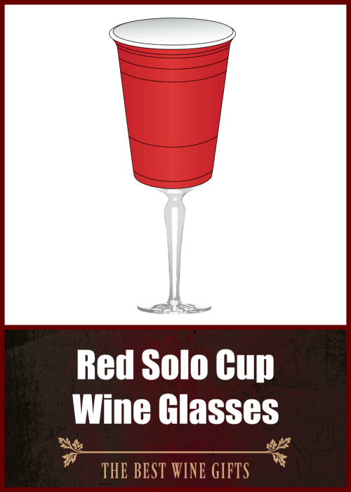 Red Solo Cup Wine Glasses
