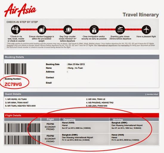 In hay không in vé máy bay điện tử