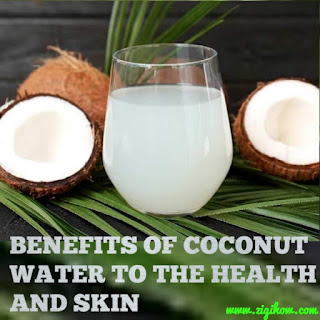 HEALTH BENEFITS OF COCONUT WATER 4