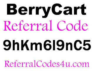 BerryCart Referral Id, BerryCart App, BerryCart Bonus, Berry Cart Promotion
