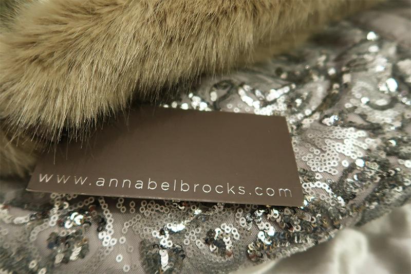 charlotte in england Annabel Brocks: Tweed & Faux Fur Headwarmer