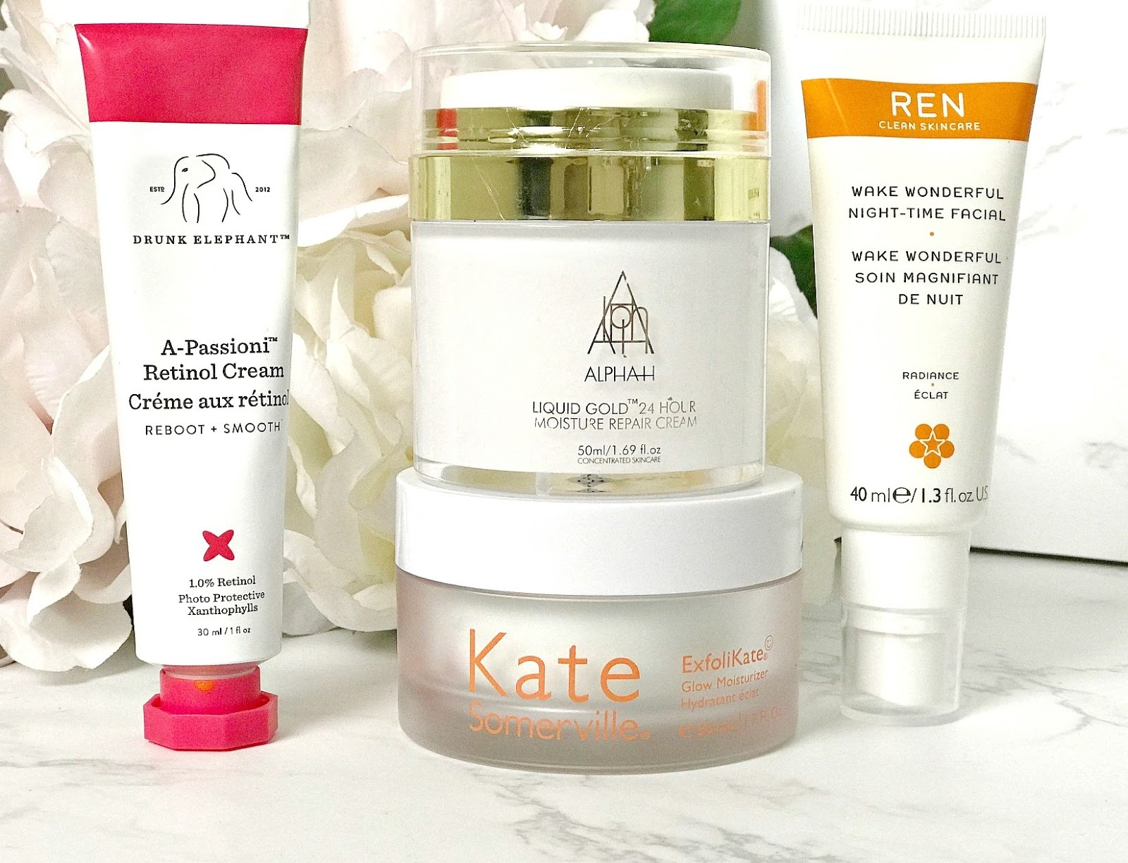 Cult Beauty Discount Code, Drunk Elephant A-Passioni Retinol Cream Review, Alpha-H Liquid Gold 24 Hour Moisture Repair Cream Review, REN Wake Wonderful Night Time Facial Review, Kate Somerville Exfolikate Glow Moisturiser Review
