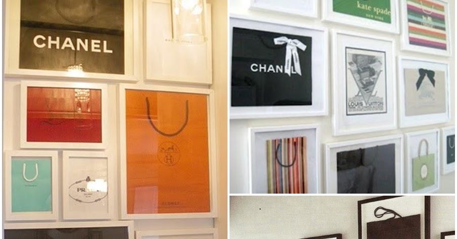 8d51c412055 Dear Closet  Quadro de sacola  D.I.Y