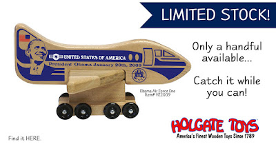 Holgate Toy's Limited Edition President Obama's Air Force One plane