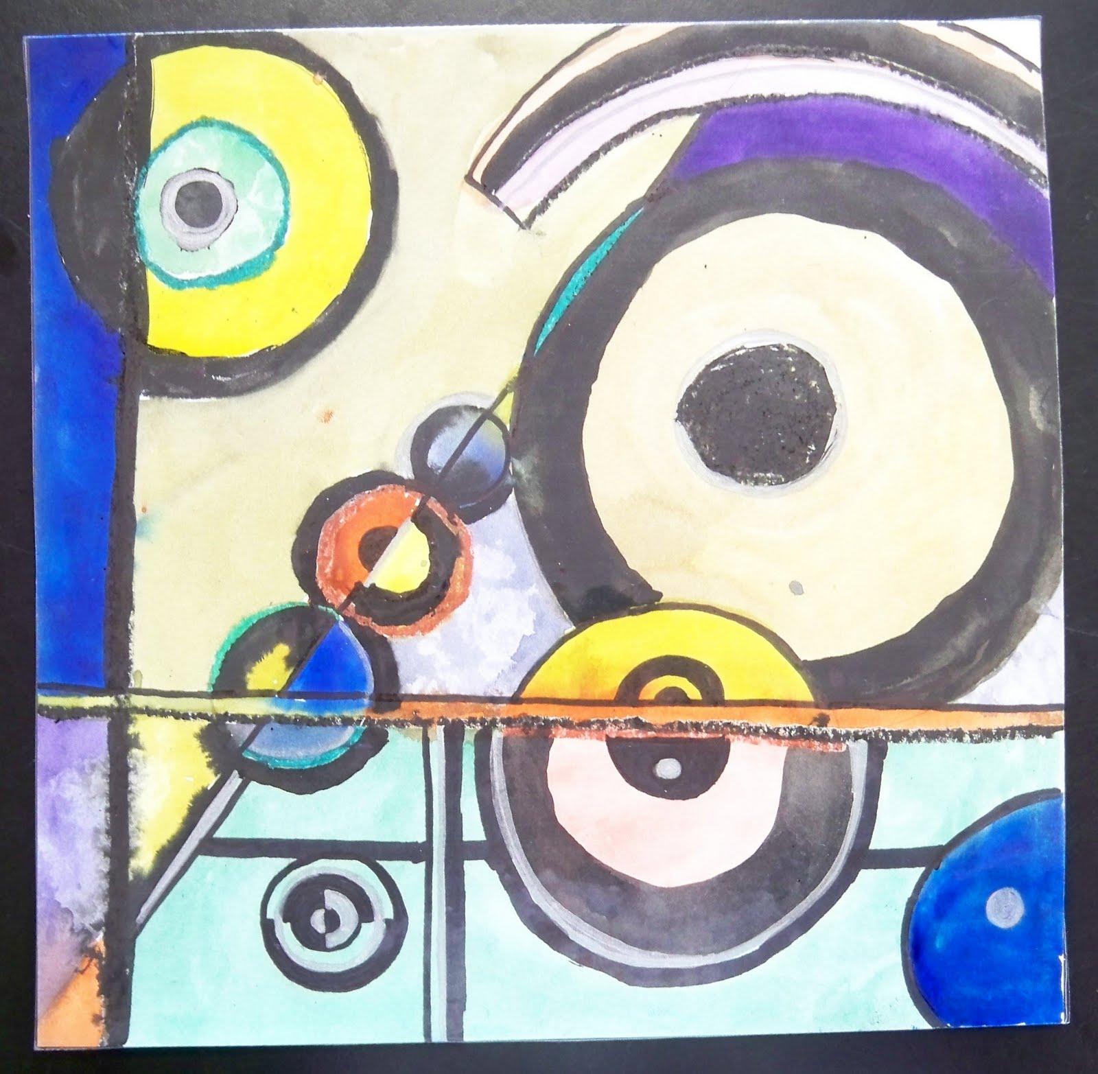 Art From Chaos: 4th Grade: Sonia Delaunay