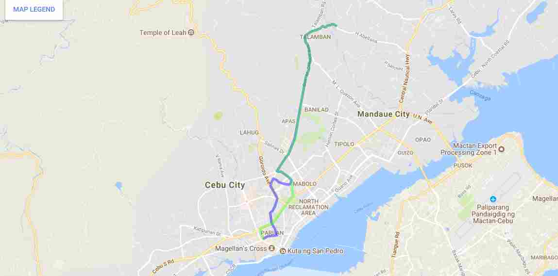 Ride a Jeepney in Cebu and its Travel Routes Code 13c Destination Talamban Colon Map Best of Philippines 2018