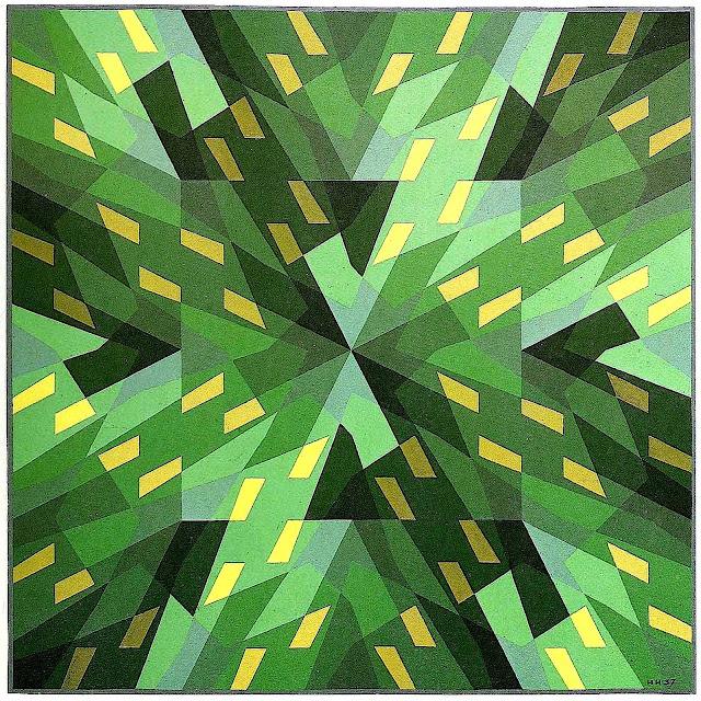 Hans Hinterreiter constructivism art, 1937