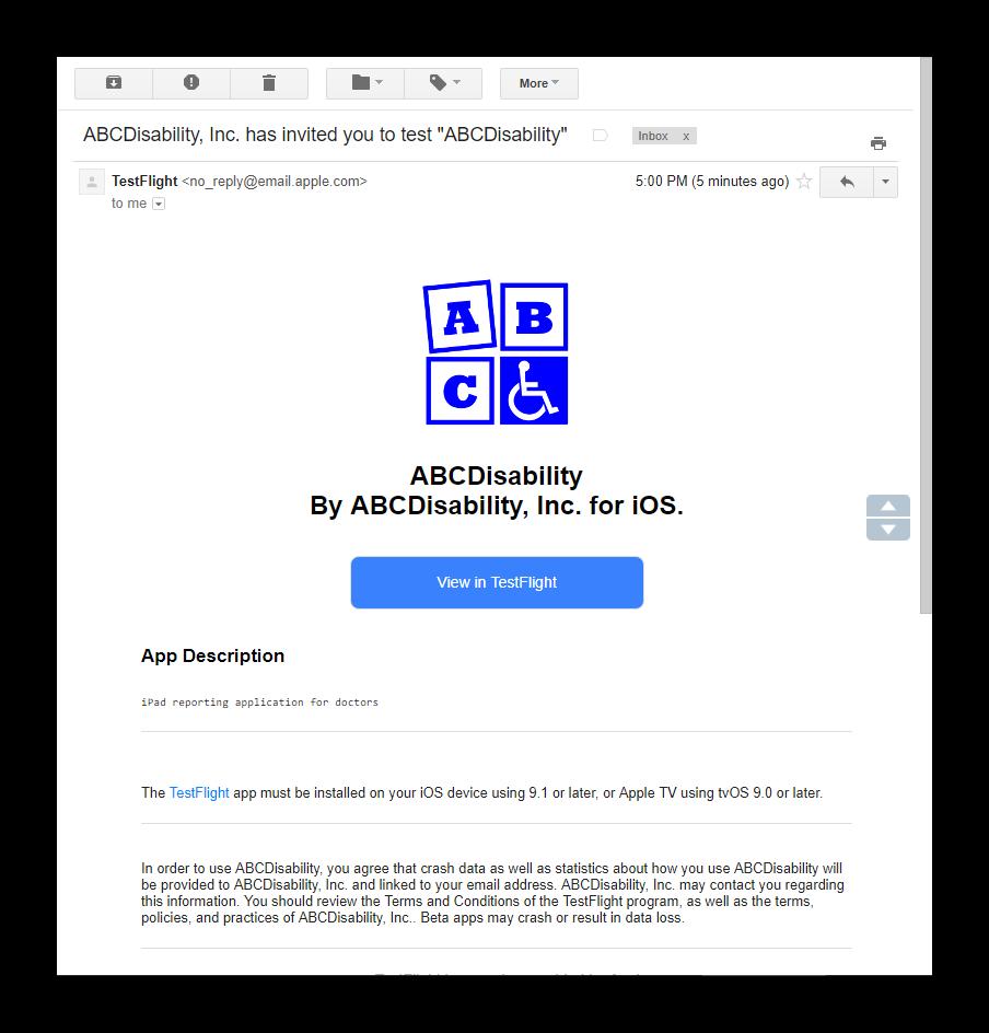 ABCDisability: ABCDisability iPhone and iPad App