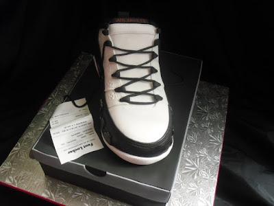 Made Fresh Daily Air Jordan 9 Cake