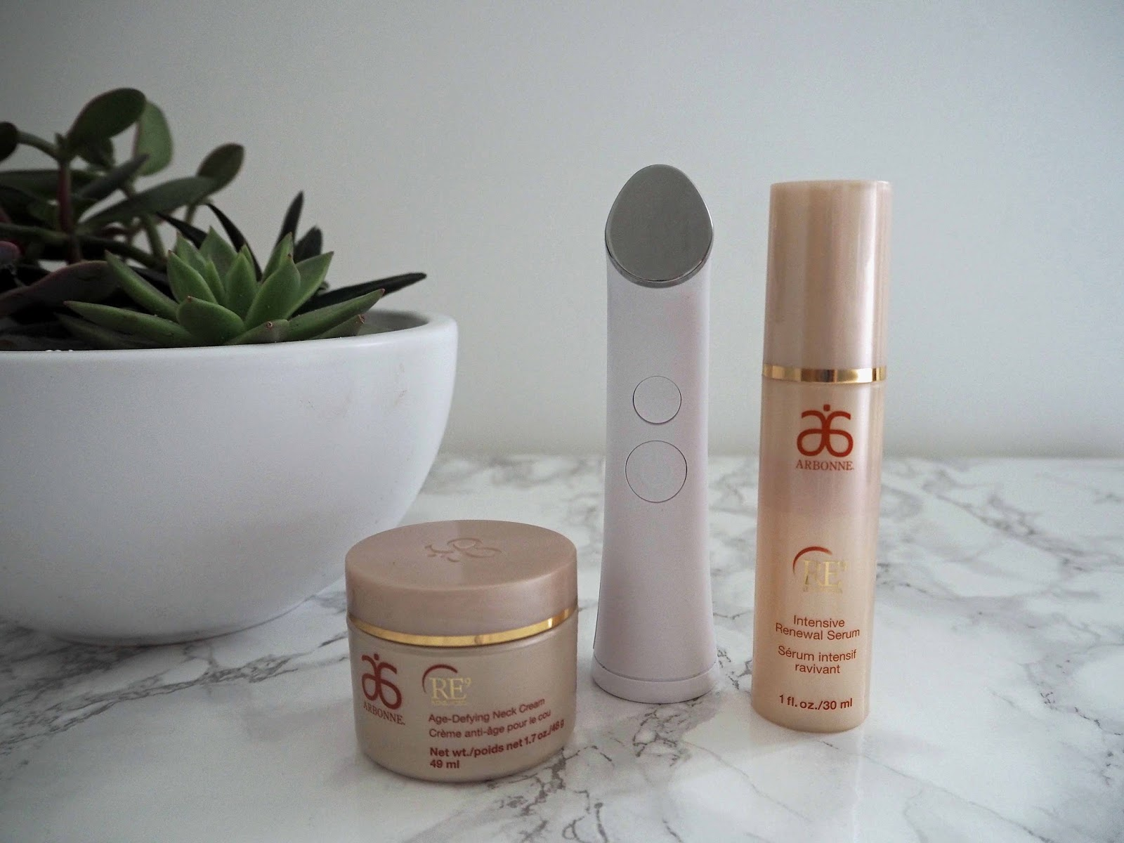 A Review of The Arbonne anti-ageing Genius device.