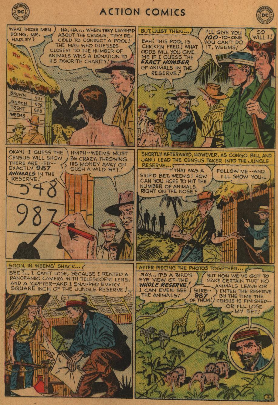 Read online Action Comics (1938) comic -  Issue #227 - 19