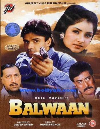 Poster Of Balwaan 1992 Hindi 720p HDRip Free Download Watch Online