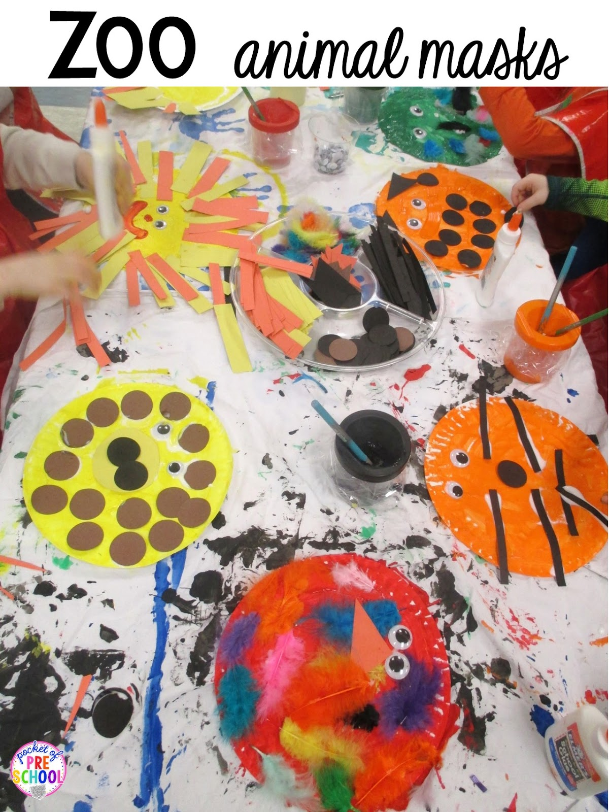 Zoo Centers And Activities Free Desert Art Activity