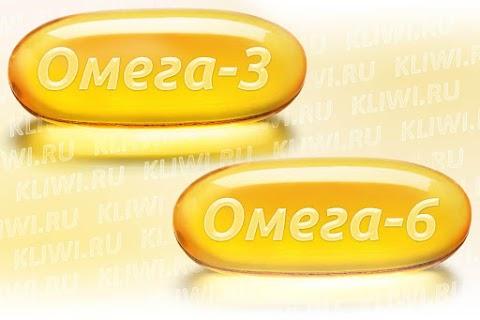 Чем отличается Омега-3 от Омега-6?