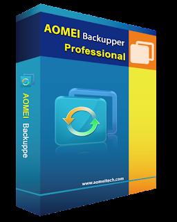 Phần mềm AOMEI Backupper Professional $29.99 đang miễn phí [for PC]