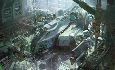 Ambientes y maquinas del futuro.
