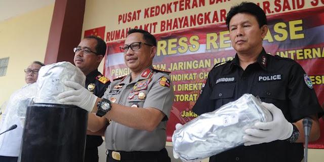 Kapolri: Jangan Coba Bawa Masuk Narkoba ke Indonesia!
