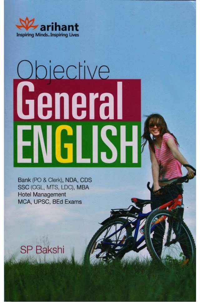 Objective General English By SP Bakshi : For All Competitive Exam PDF Book