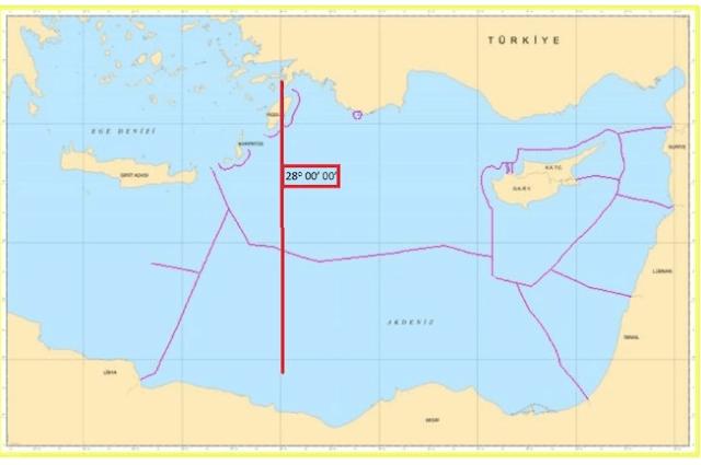 Η Τουρκία «διέγραψε» το Καστελόριζο, διεκδικεί μέχρι και την... Κρήτη [εικόνες]