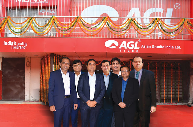 Asian Granito India Ltd inaugurates its state-of-the-art display centre in New Delhi