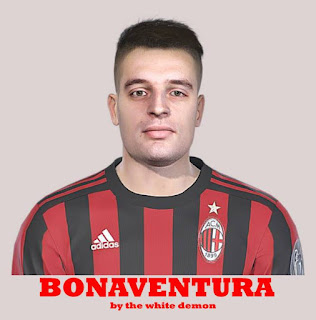 PES 2019 Faces Giacomo Bonaventura by The White Demon