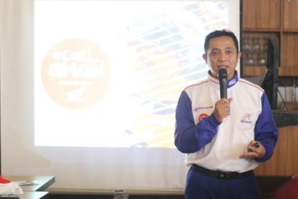 Kehebatan Astra Motor Edukasi Tentang #Cari_Aman di Kopdar Bersama Komunitas Blogger Pontianak