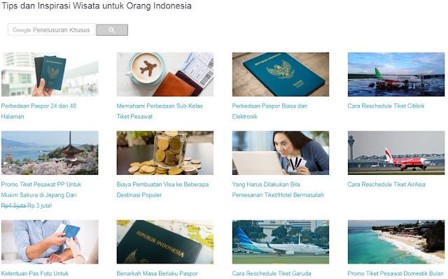kalau bingun apa yang harus dilakukan untuk memulai perjalanan, kamu bisa baca-baca artikel yang ada di Skyscanner