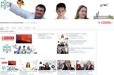 Inscreva-se em nosso canal no Youtube