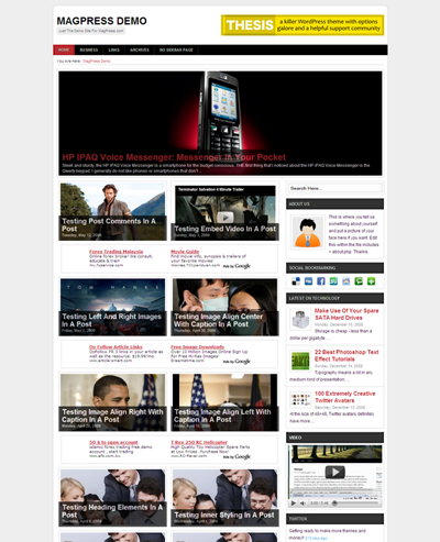 Besta Free WordPress Theme