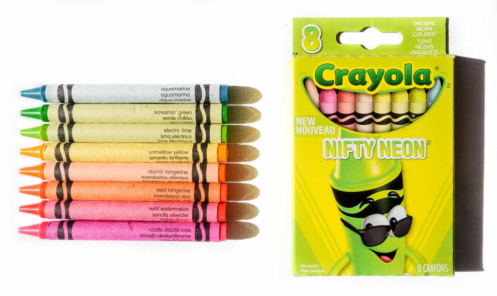 8 count crayola tip collection crayons what s inside the box