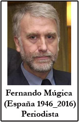 Fernando Múgica. Periodista