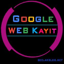 Web Siteyi Google'a Kaydetmek
