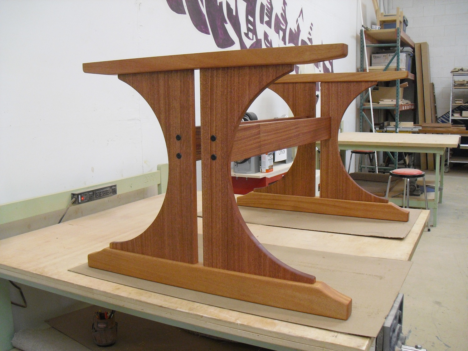 Well known Let's Talk Wood: Trestle table base LS13