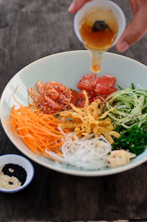 Yee Sang / Raw Fish salad