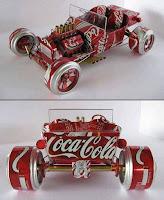 Reciclaje para juguetes de latas