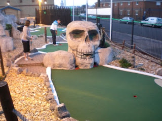 Photo of the Treasure Island Adventure Golf course in Southsea