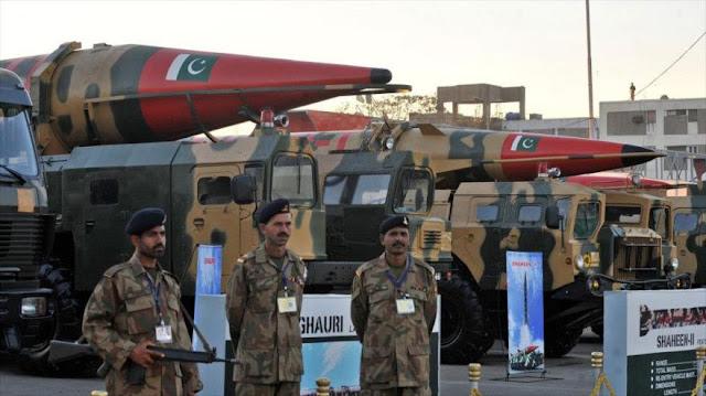 Paquistán esgrime sus armas nucleares ante amenazas israelíes
