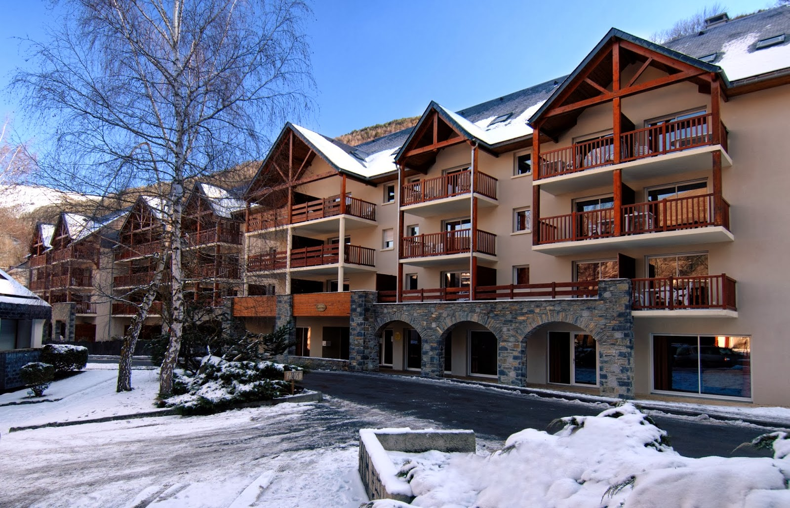 self catered accommodation in Saint Lary, Soleil d'Aure