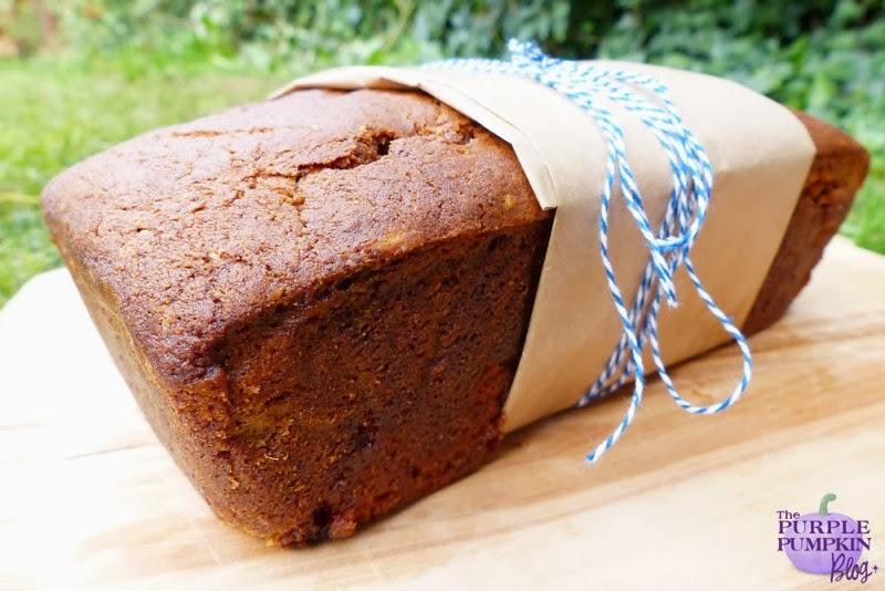 Spiced Pumpkin & Walnut Tea Loaf #CraftyOctober
