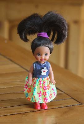 Mini Barbie des années 90